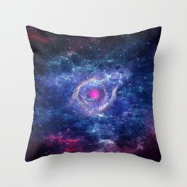Eye in the Universe Throw Pillow