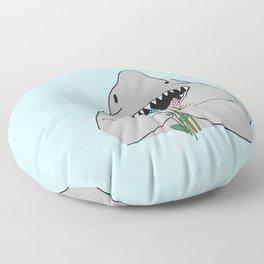 Happy Shark Floor Pillow