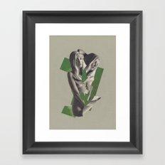 The Busy Heart Framed Art Print