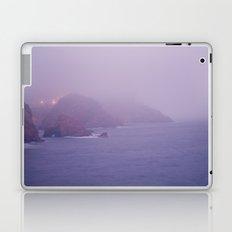 the foggy evening Laptop & iPad Skin