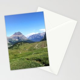 Hidden Lake , Montana Mountain Trails Stationery Cards