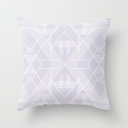 Illuminati Lavender Throw Pillow