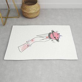 Space Ice Cream Rug