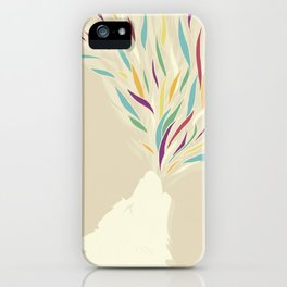 The Harlequin's Wolf iPhone Case