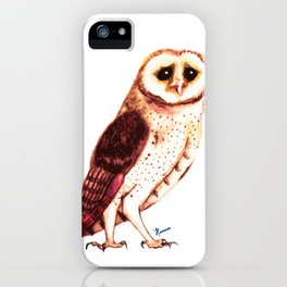 Whooo´s cute? iPhone Case