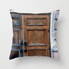 Doors Throw Pillow