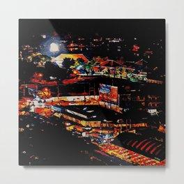 Udon Night Lights Metal Print