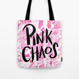 pink chaos Tote Bag