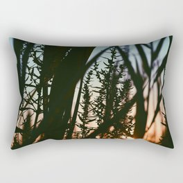 sun searching Rectangular Pillow