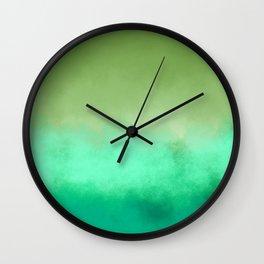 Greenness Wall Clock