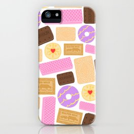 Biscuit (White Background) iPhone Case