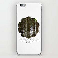the clearest way into the universe iPhone & iPod Skin