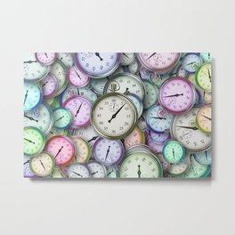 Timepieces Art Metal Print