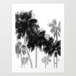 Paradis Noir II Art Print