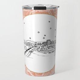 Chattanooga, Tennessee City Skyline Illustration Drawing Travel Mug