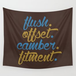 flush offset camber fitment v7 HQvector Wall Tapestry
