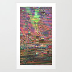 Colonized Art Print