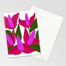 Purple Pink Marvels Stationery Cards