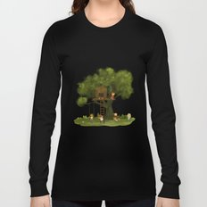 Tree Kids House Long Sleeve T-shirt