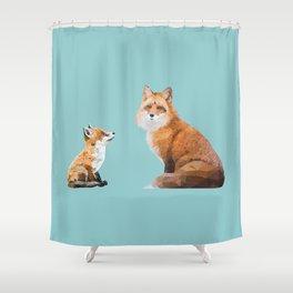 Fox Tenderness Shower Curtain