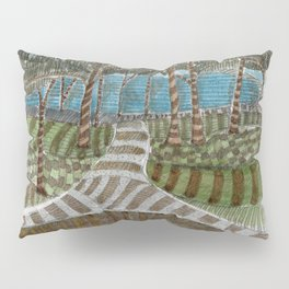 Meandering Landscapes: Swirling Around (BP) Pillow Sham