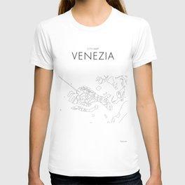 Venezia - City Map - Daniele Drigo T-shirt