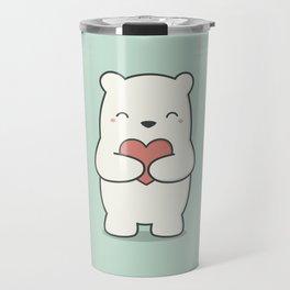 Kawaii Cute Polar Bear Travel Mug