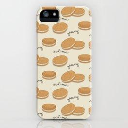 Brown cookies iPhone Case
