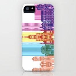 Medellin skyline pop iPhone Case