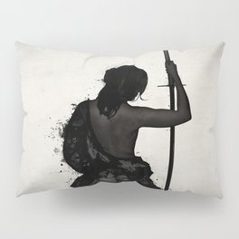 Female Samurai - Onna Bugeisha Pillow Sham