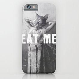 EAT ME - Cat iPhone Case