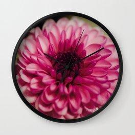 Pink Goodness Wall Clock