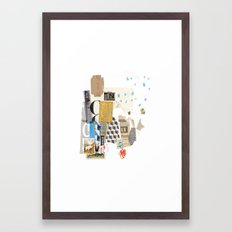 It Always Works Out Framed Art Print