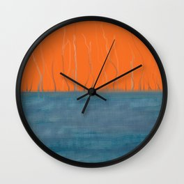 Threadbare Wall Clock