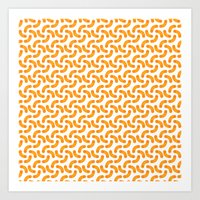 Macaroni Art Print