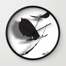 Lost Wing Wall Clock