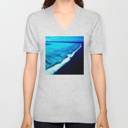 To the Edge of the Tropical Reef Unisex V-Neck
