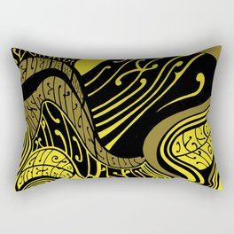 Acid Swirls Rectangular Pillow