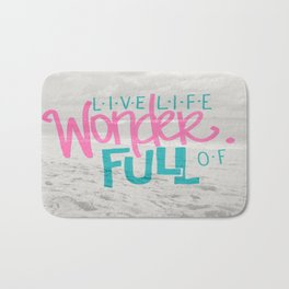 WonderFULL Beach Life Bath Mat