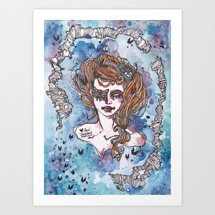 Trust In Yourself Art Print