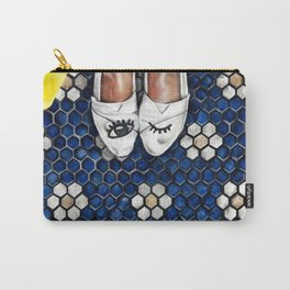 Art Beneath Our Feet Project - Grand Rapids Carry-All Pouch