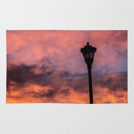 Lonely Lamp Post Rug