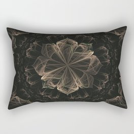 Ornate Blossom Rectangular Pillow