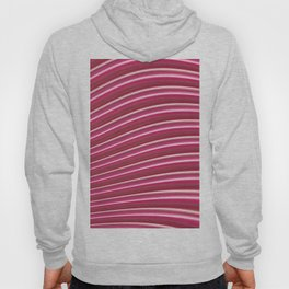 Red abstract lines Hoody