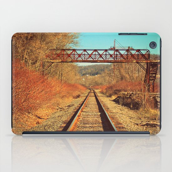 On The Right Track iPad Case