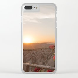 Sunset Over Rose Valley, Cappadocia Clear iPhone Case