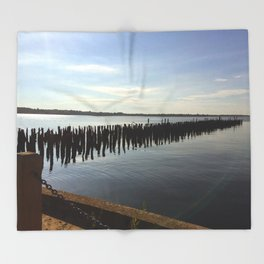 Narragansett Bay, RI Throw Blanket