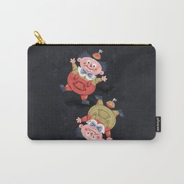 Tweedledee and Tweedledum - Alice in Wonderland Carry-All Pouch