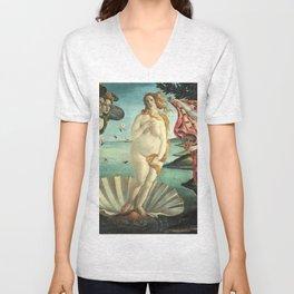 La Pancia di Venere (The Belly of Venus) Unisex V-Neck