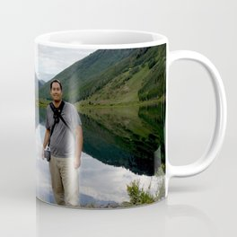 Photographer on Crystal Lake Coffee Mug